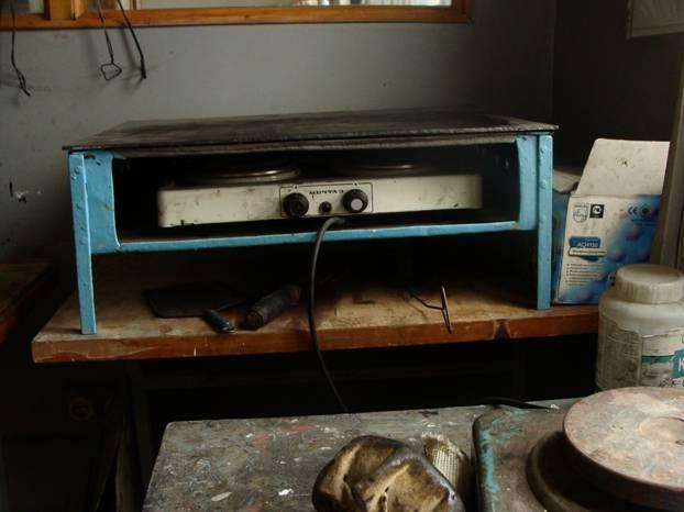 Нагревательный стол (печатная плита).