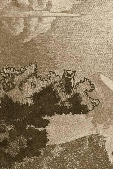 Бодяев Д. Ю. «Размышления о Кубани» лист №2, мягкий лак, в несколько травлений